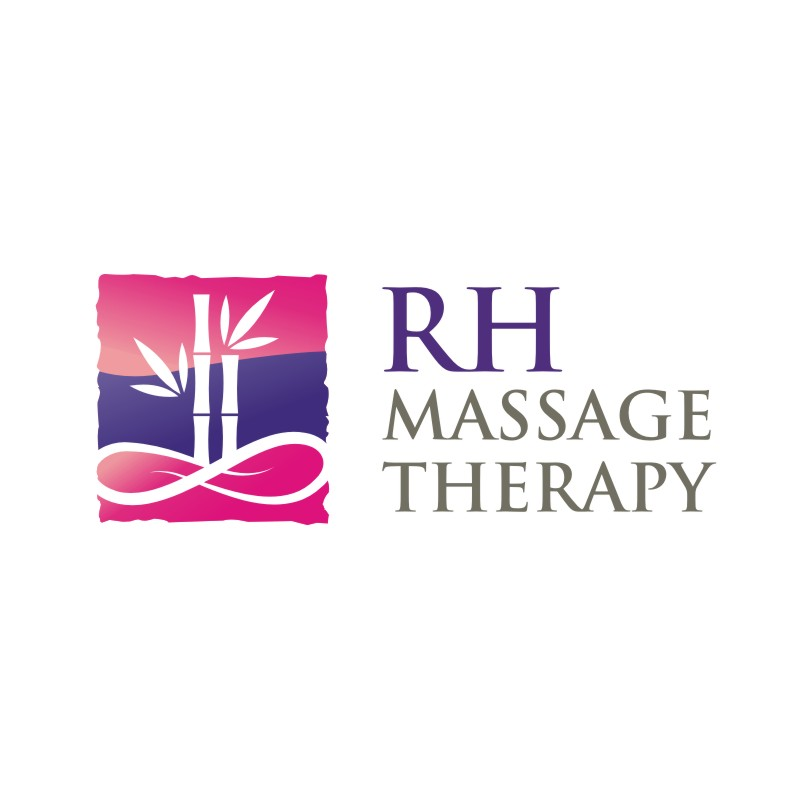 Logo Design by Private User - Entry No. 39 in the Logo Design Contest Logo for new massage therapy clinic named RH Massage Therapy.