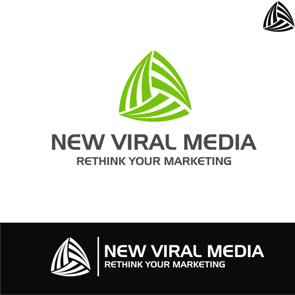 Logo Design by kirmis - Entry No. 84 in the Logo Design Contest New Viral Media Logo.