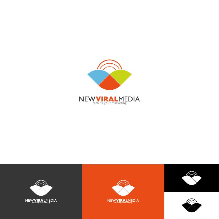 Logo Design by Alpar David - Entry No. 85 in the Logo Design Contest New Viral Media Logo.
