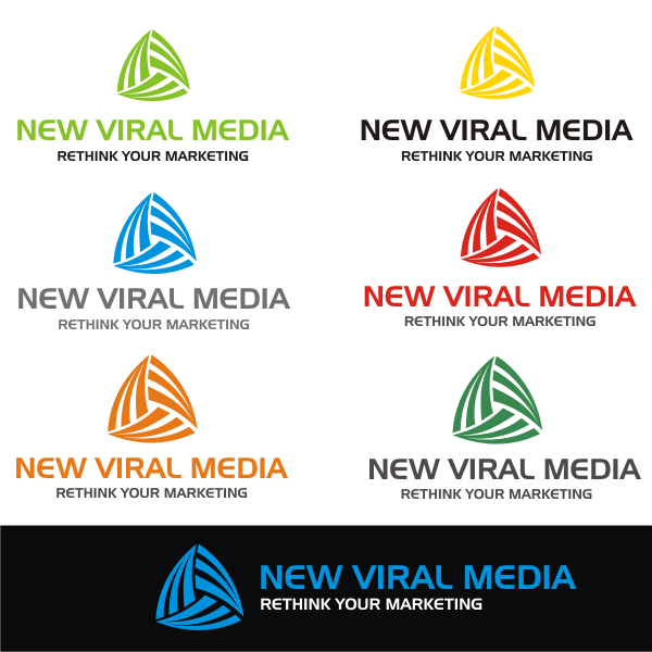 Logo Design by kirmis - Entry No. 87 in the Logo Design Contest New Viral Media Logo.
