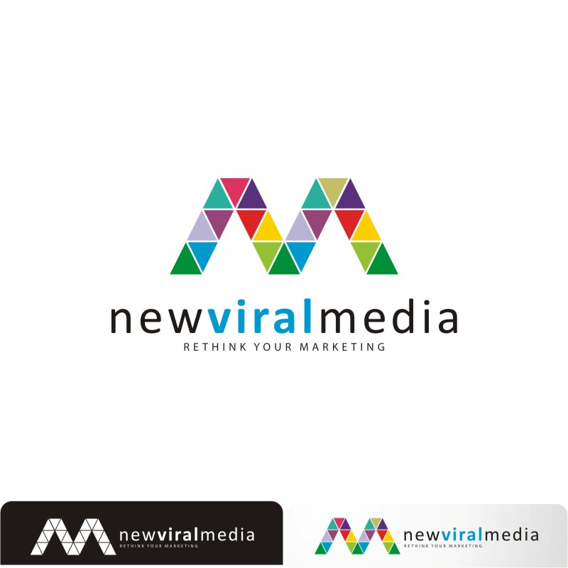 Logo Design by Private User - Entry No. 88 in the Logo Design Contest New Viral Media Logo.