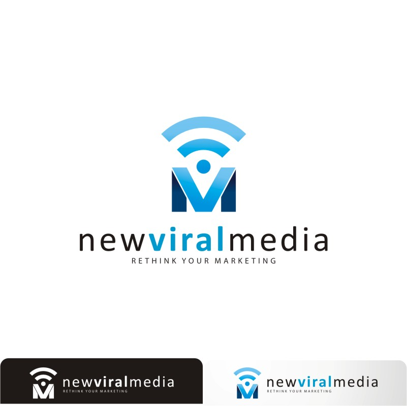 Logo Design by Private User - Entry No. 89 in the Logo Design Contest New Viral Media Logo.