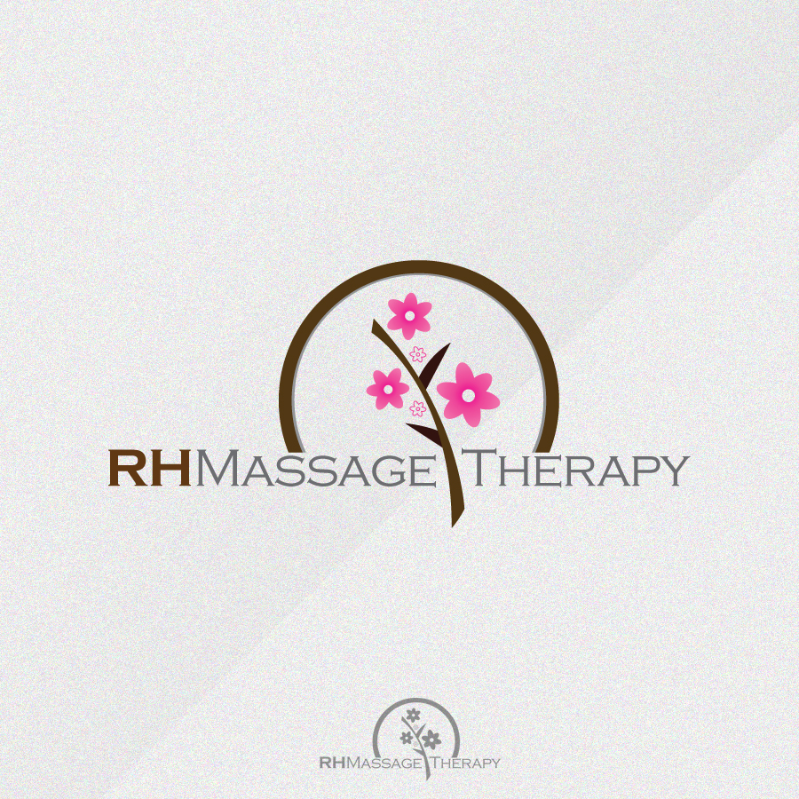 Logo Design by rockpinoy - Entry No. 46 in the Logo Design Contest Logo for new massage therapy clinic named RH Massage Therapy.