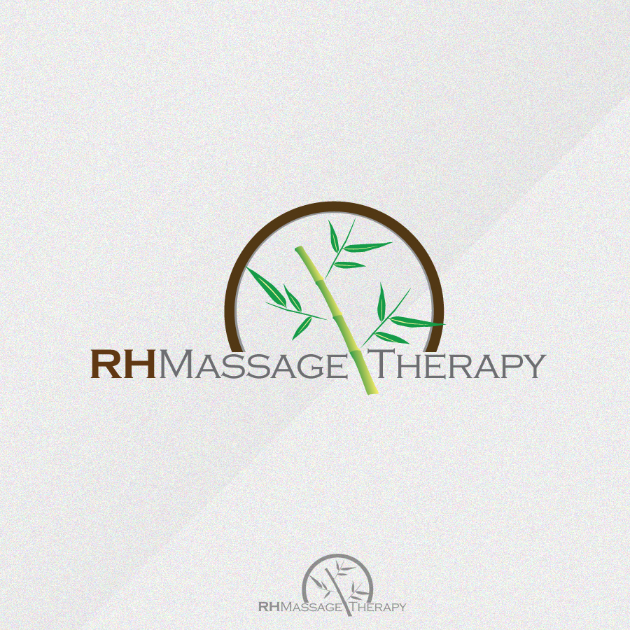 Logo Design by rockpinoy - Entry No. 47 in the Logo Design Contest Logo for new massage therapy clinic named RH Massage Therapy.