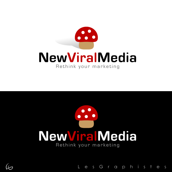 Logo Design by Les-Graphistes - Entry No. 90 in the Logo Design Contest New Viral Media Logo.