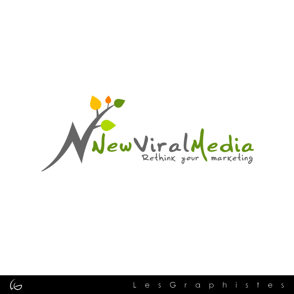 Logo Design by Les-Graphistes - Entry No. 92 in the Logo Design Contest New Viral Media Logo.