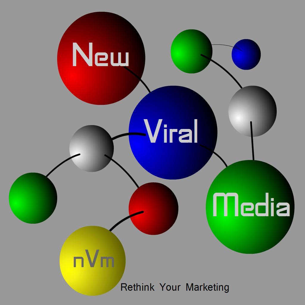 Logo Design by Brian Moelker - Entry No. 94 in the Logo Design Contest New Viral Media Logo.