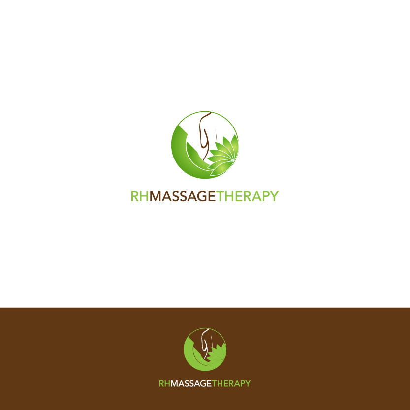 Logo Design by Alpar David - Entry No. 48 in the Logo Design Contest Logo for new massage therapy clinic named RH Massage Therapy.