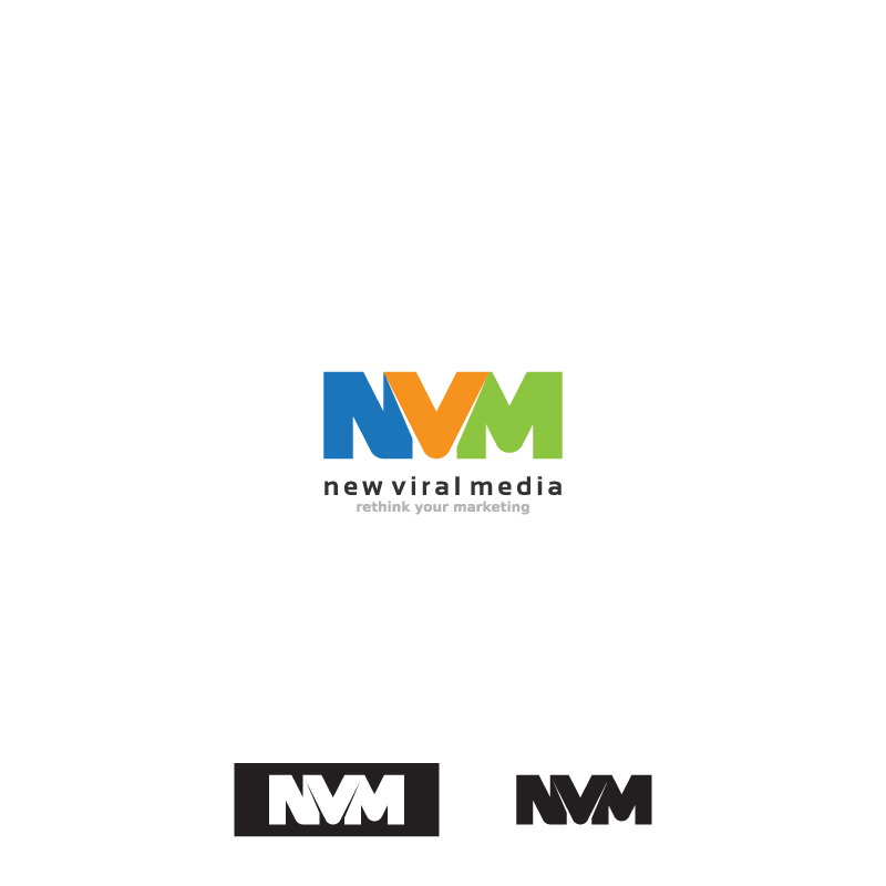 Logo Design by Aleksandar - Entry No. 99 in the Logo Design Contest New Viral Media Logo.