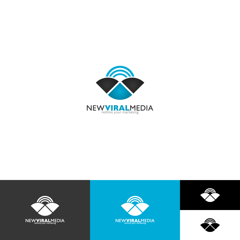 Logo Design by Alpar David - Entry No. 100 in the Logo Design Contest New Viral Media Logo.