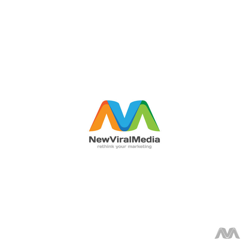 Logo Design by Aleksandar - Entry No. 101 in the Logo Design Contest New Viral Media Logo.