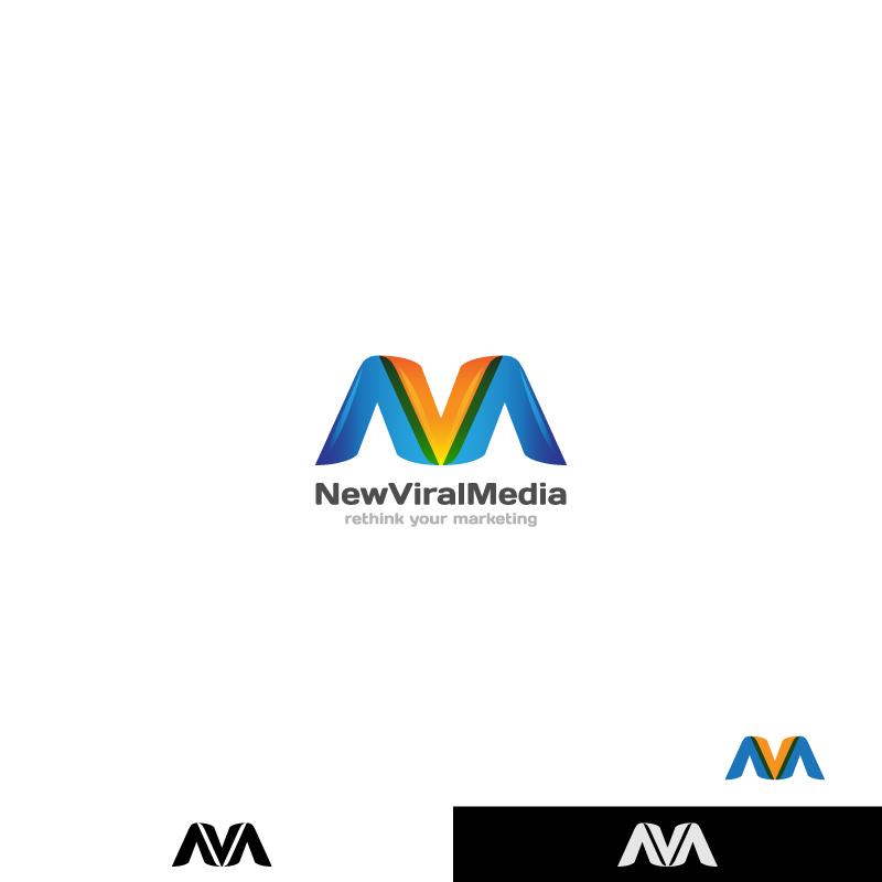 Logo Design by Aleksandar - Entry No. 102 in the Logo Design Contest New Viral Media Logo.