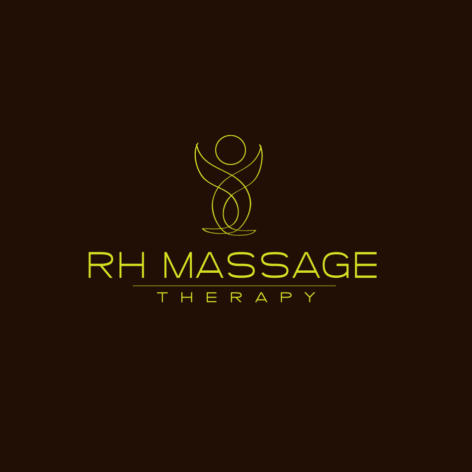 Logo Design by moonflower - Entry No. 50 in the Logo Design Contest Logo for new massage therapy clinic named RH Massage Therapy.