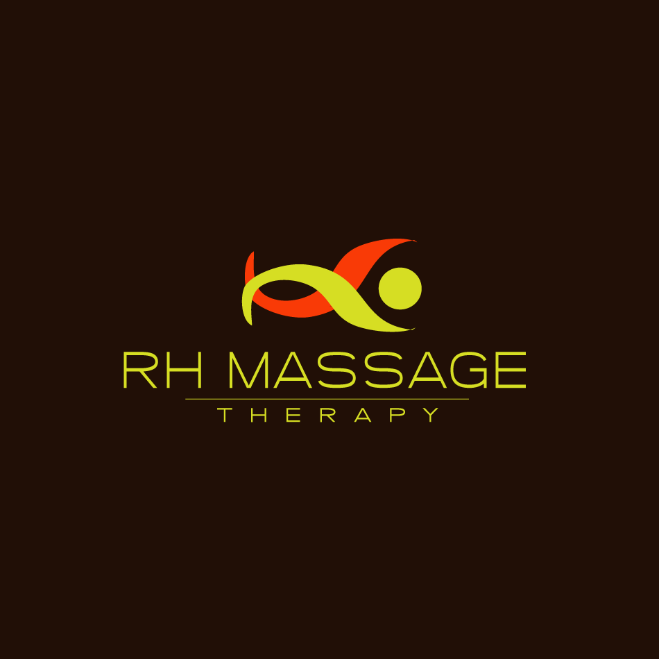 Logo Design by moonflower - Entry No. 51 in the Logo Design Contest Logo for new massage therapy clinic named RH Massage Therapy.