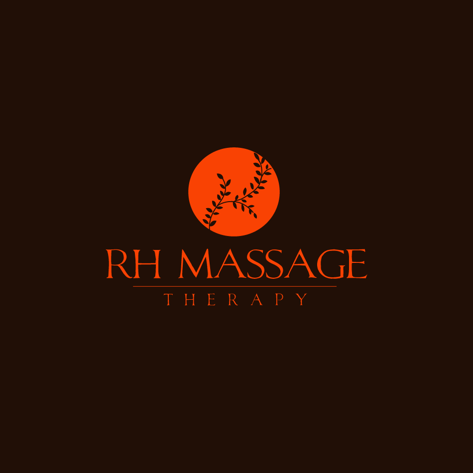 Logo Design by moonflower - Entry No. 52 in the Logo Design Contest Logo for new massage therapy clinic named RH Massage Therapy.