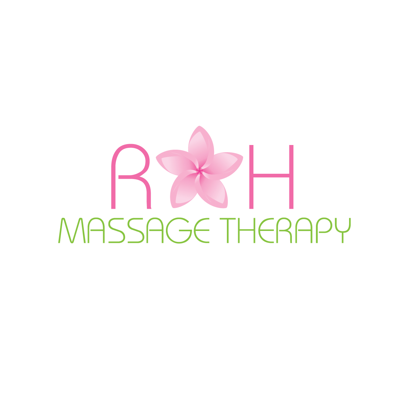 Logo Design by Private User - Entry No. 55 in the Logo Design Contest Logo for new massage therapy clinic named RH Massage Therapy.
