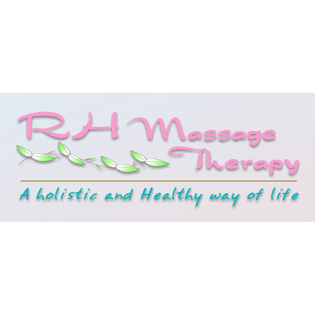Logo Design by Brian Moelker - Entry No. 57 in the Logo Design Contest Logo for new massage therapy clinic named RH Massage Therapy.