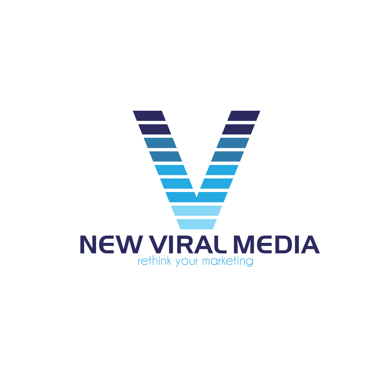 Logo Design by Private User - Entry No. 107 in the Logo Design Contest New Viral Media Logo.