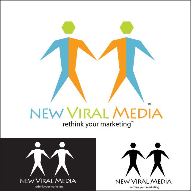 Logo Design by deontai - Entry No. 108 in the Logo Design Contest New Viral Media Logo.