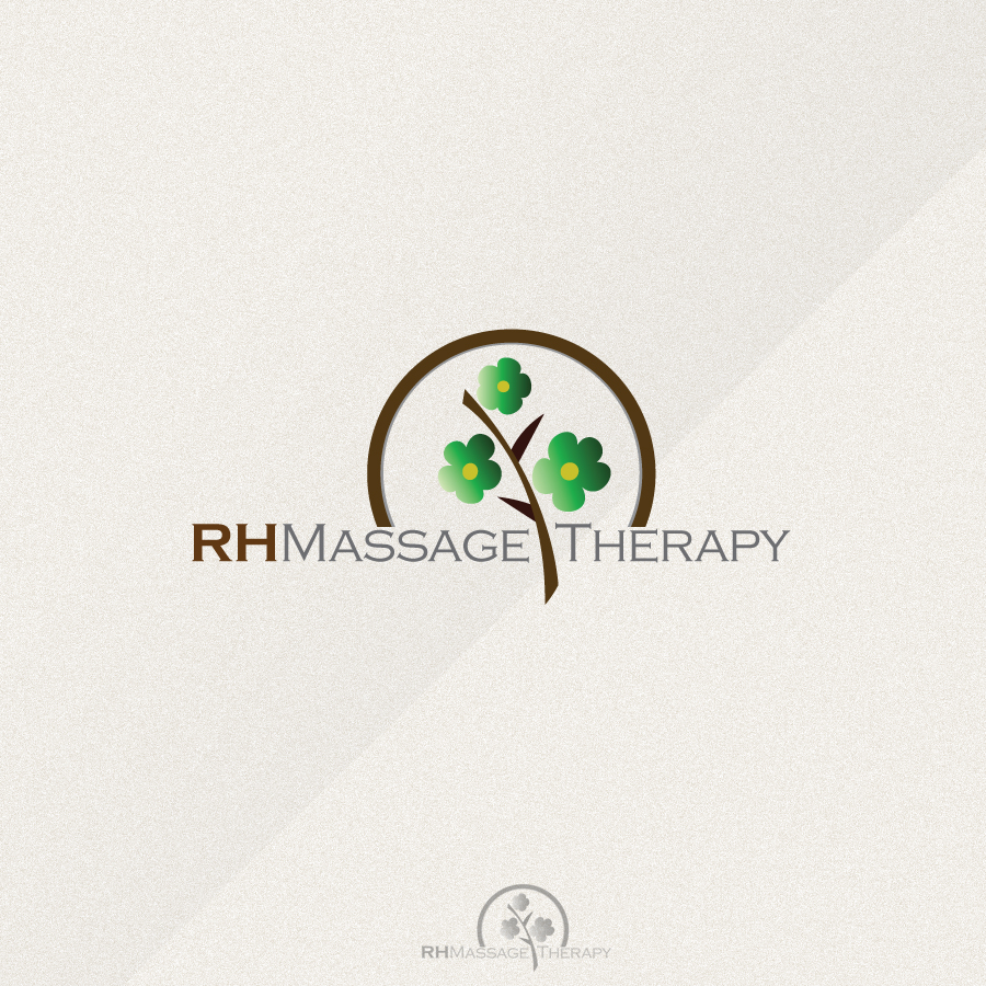 Logo Design by rockpinoy - Entry No. 65 in the Logo Design Contest Logo for new massage therapy clinic named RH Massage Therapy.