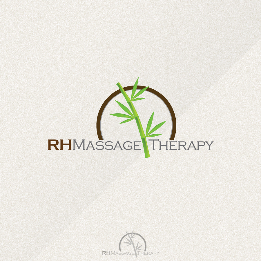 Logo Design by rockpinoy - Entry No. 66 in the Logo Design Contest Logo for new massage therapy clinic named RH Massage Therapy.