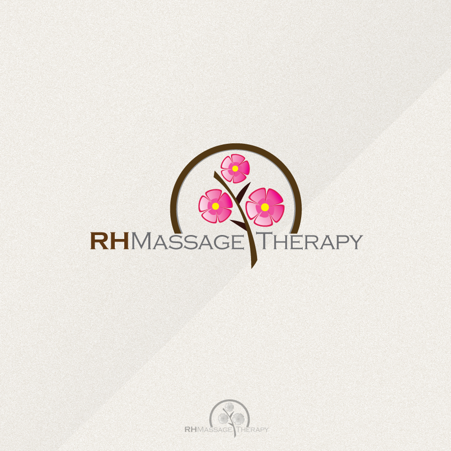 Logo Design by rockpinoy - Entry No. 67 in the Logo Design Contest Logo for new massage therapy clinic named RH Massage Therapy.