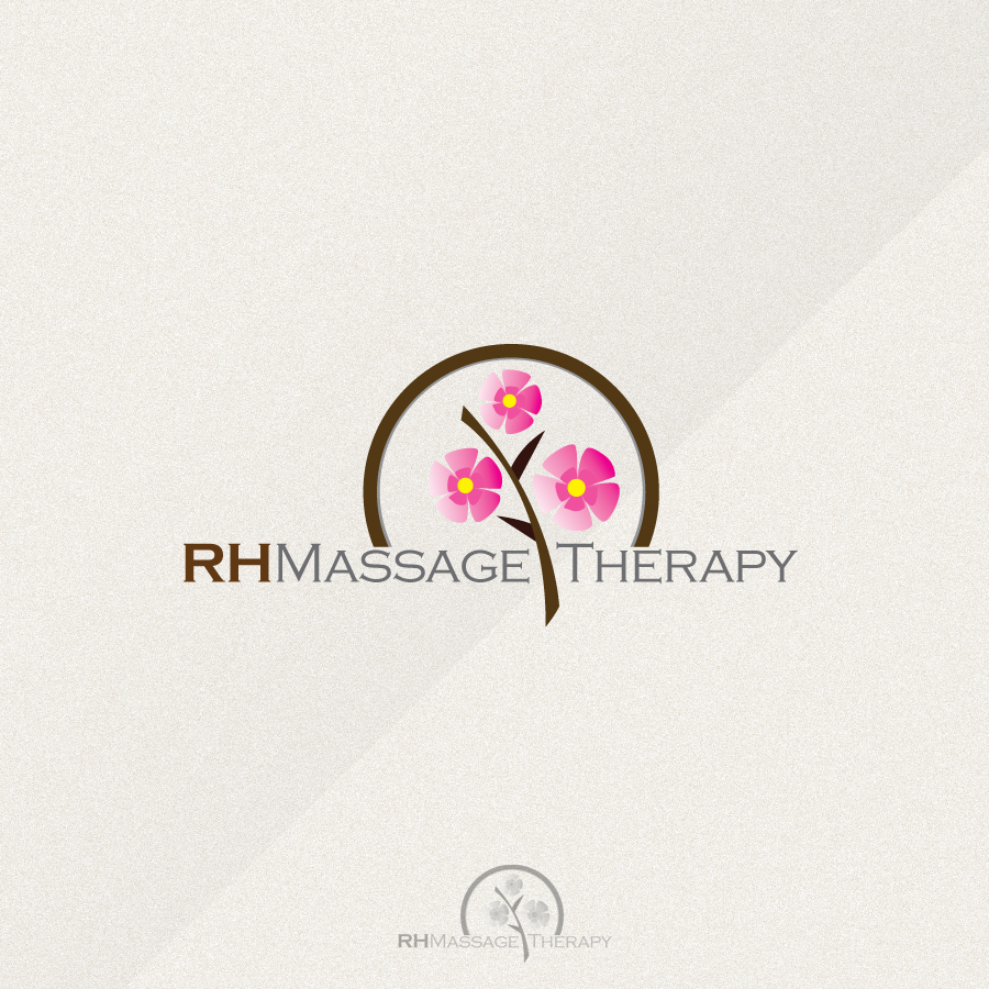 Logo Design by rockpinoy - Entry No. 68 in the Logo Design Contest Logo for new massage therapy clinic named RH Massage Therapy.