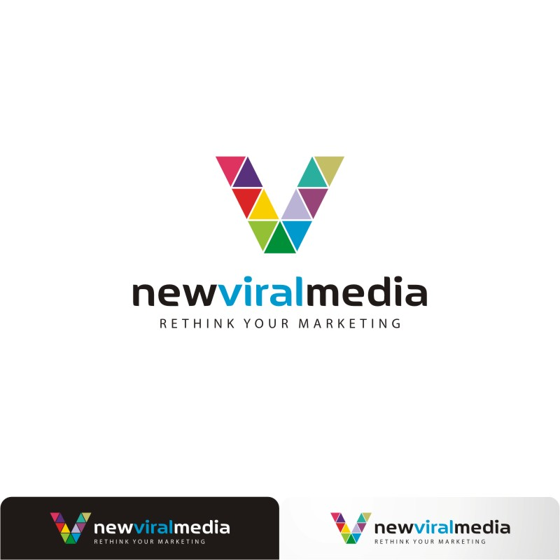 Logo Design by Private User - Entry No. 113 in the Logo Design Contest New Viral Media Logo.