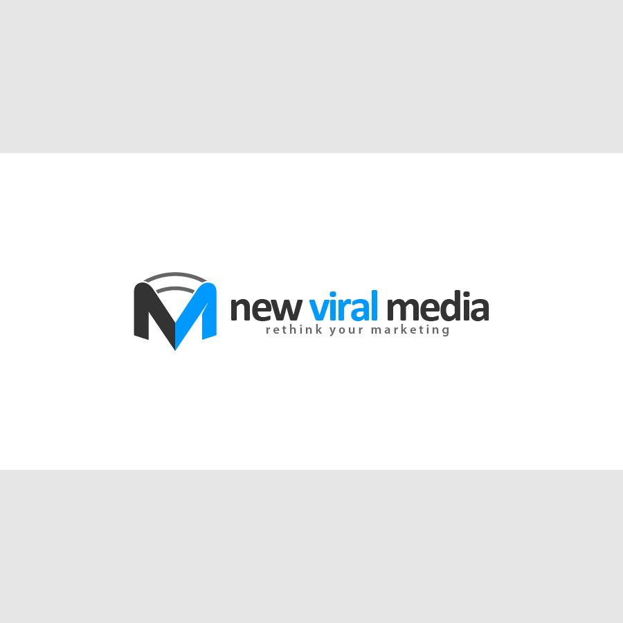 Logo Design by zesthar - Entry No. 116 in the Logo Design Contest New Viral Media Logo.