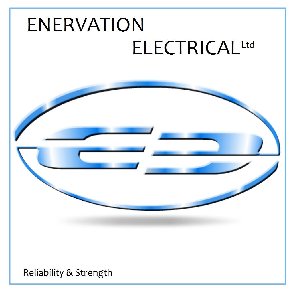 Business Card Design by Brian Moelker - Entry No. 18 in the Business Card Design Contest Enervation Logo Design.