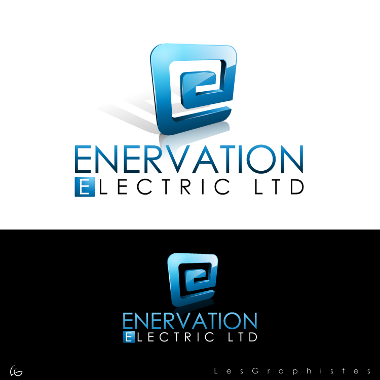 Business Card Design by Les-Graphistes - Entry No. 19 in the Business Card Design Contest Enervation Logo Design.