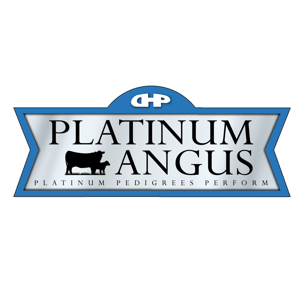 Logo Design by Lefky - Entry No. 92 in the Logo Design Contest Platinum Angus Cattle.