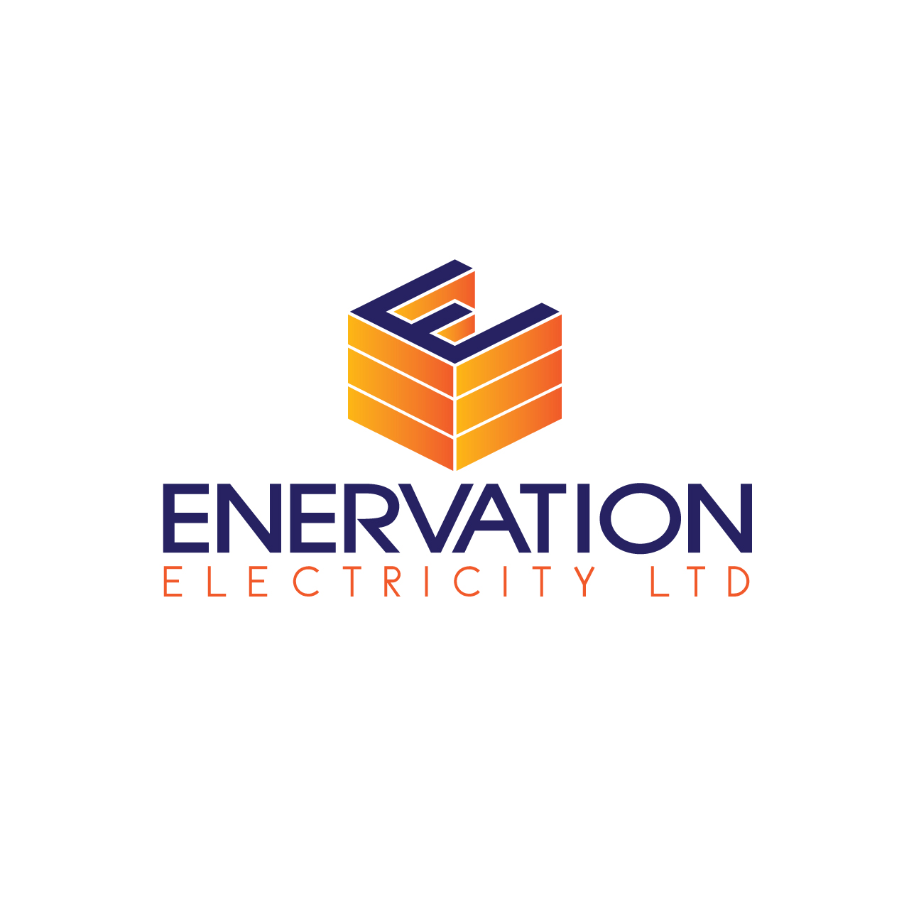 Business Card Design by Private User - Entry No. 42 in the Business Card Design Contest Enervation Logo Design.
