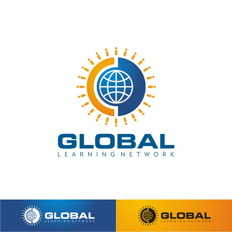 Logo Design by Private User - Entry No. 25 in the Logo Design Contest Logo for a high-tech global education platform.