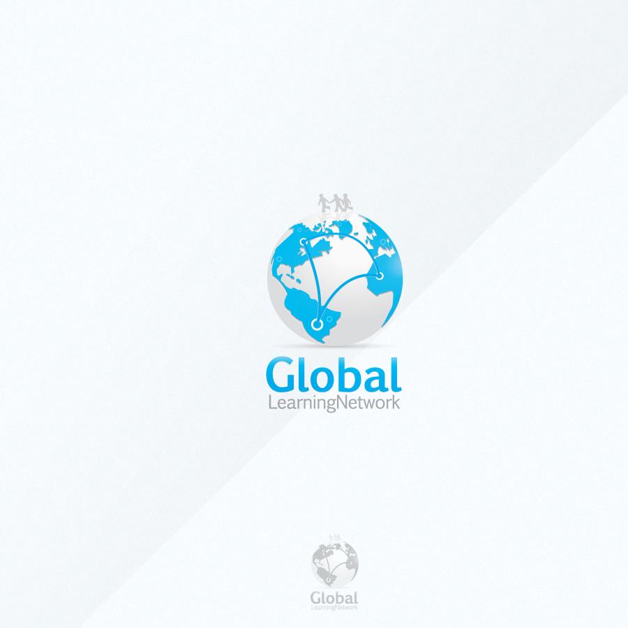 Logo Design by rockpinoy - Entry No. 74 in the Logo Design Contest Logo for a high-tech global education platform.