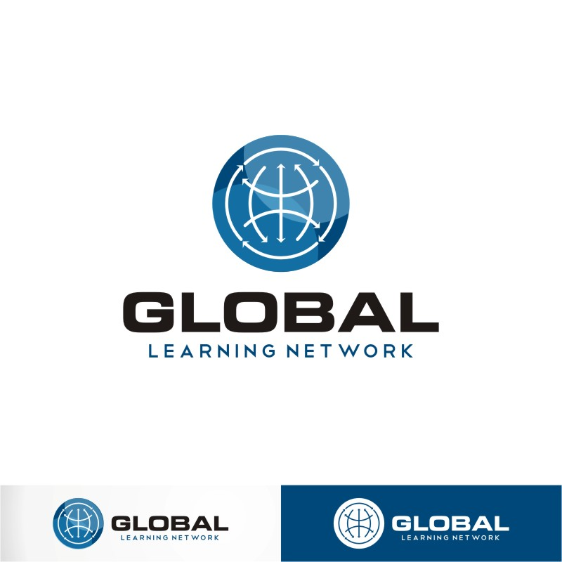 Logo Design by Private User - Entry No. 80 in the Logo Design Contest Logo for a high-tech global education platform.