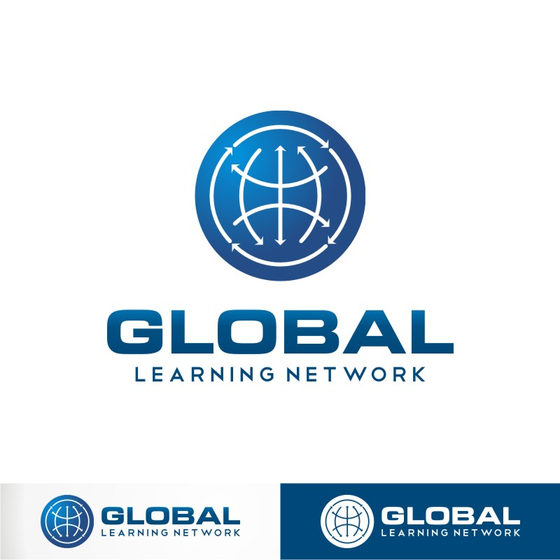 Logo Design by Private User - Entry No. 92 in the Logo Design Contest Logo for a high-tech global education platform.