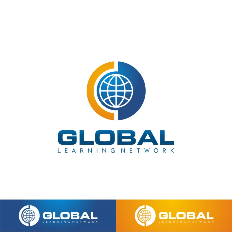 Logo Design by Private User - Entry No. 93 in the Logo Design Contest Logo for a high-tech global education platform.