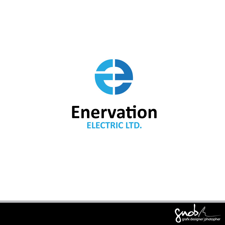 Business Card Design by mnski.apol - Entry No. 66 in the Business Card Design Contest Enervation Logo Design.