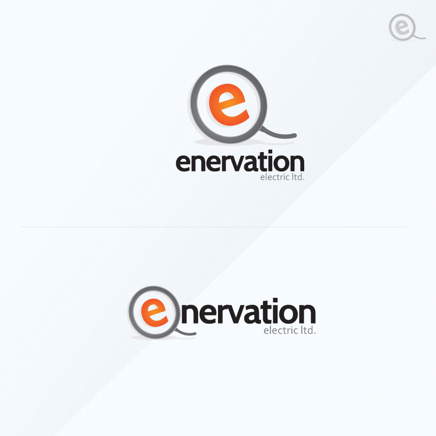 Business Card Design by rockpinoy - Entry No. 81 in the Business Card Design Contest Enervation Logo Design.