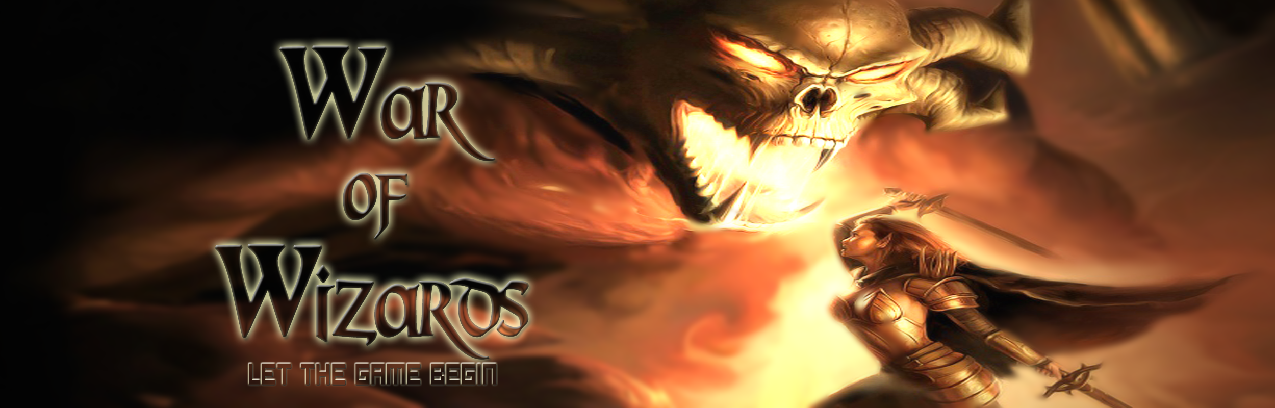 Banner Ad Design by Lara Puno - Entry No. 30 in the Banner Ad Design Contest Banner Ad Design - War of Wizards (fantasy game).