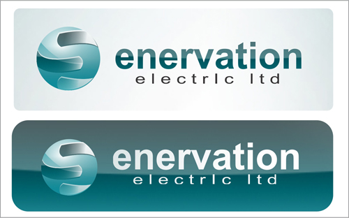 Business Card Design by jannu - Entry No. 88 in the Business Card Design Contest Enervation Logo Design.