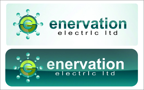 Business Card Design by jannu - Entry No. 89 in the Business Card Design Contest Enervation Logo Design.