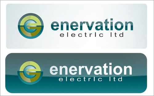 Business Card Design by jannu - Entry No. 90 in the Business Card Design Contest Enervation Logo Design.