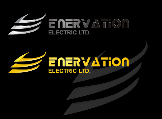 Business Card Design by monza - Entry No. 96 in the Business Card Design Contest Enervation Logo Design.