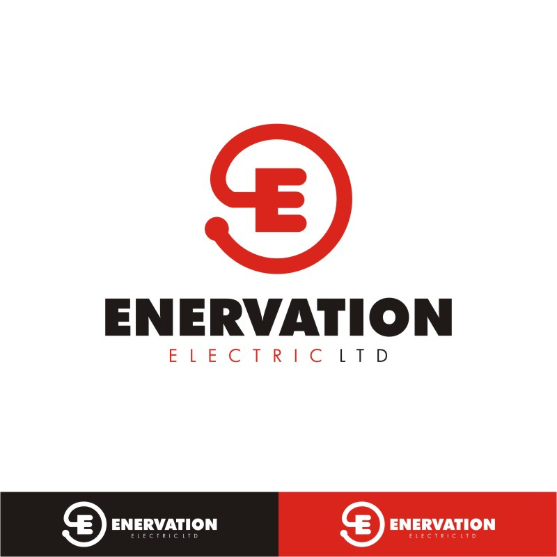 Business Card Design by Private User - Entry No. 97 in the Business Card Design Contest Enervation Logo Design.