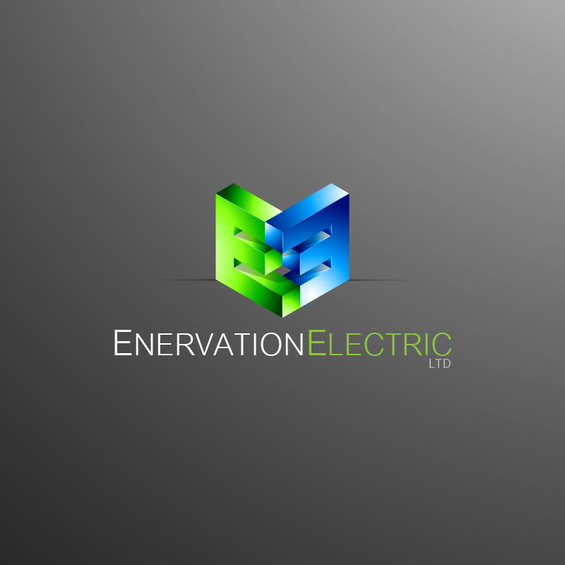 Business Card Design by zesthar - Entry No. 98 in the Business Card Design Contest Enervation Logo Design.