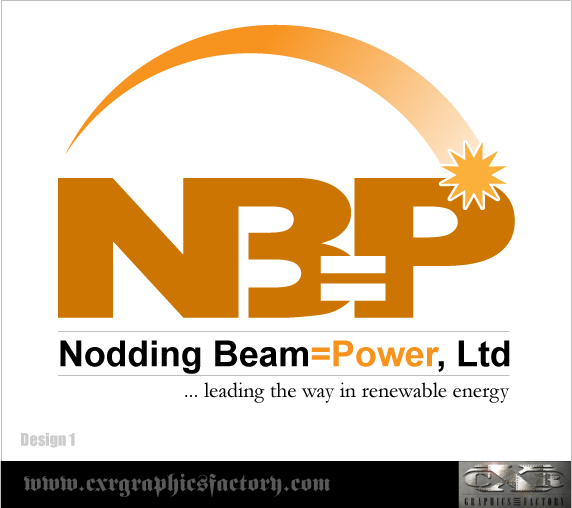 Logo Design by Bobbyfonts - Entry No. 15 in the Logo Design Contest Nodding Beam = Power Limited.