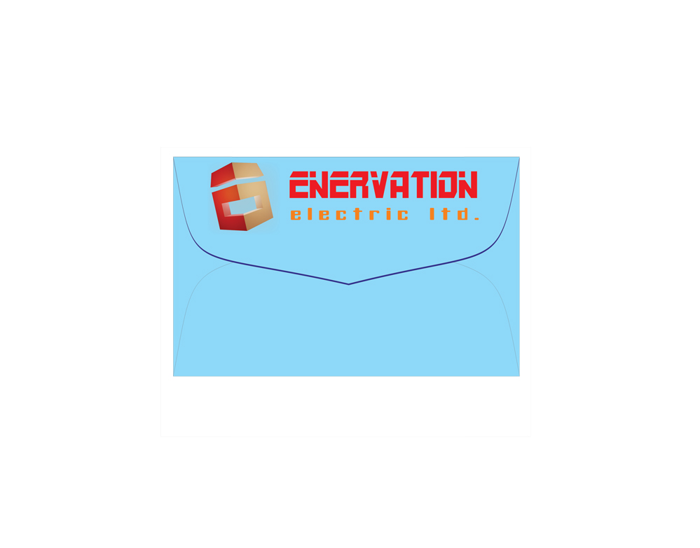 Business Card Design by jais - Entry No. 117 in the Business Card Design Contest Enervation Logo Design.