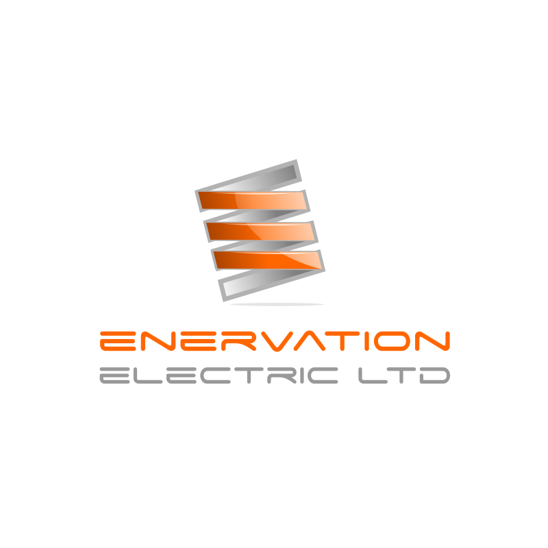 Business Card Design by Rudy - Entry No. 130 in the Business Card Design Contest Enervation Logo Design.